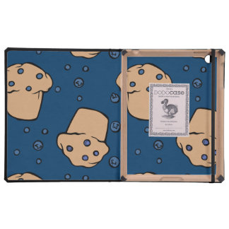 Blueberry muffins cases for iPad