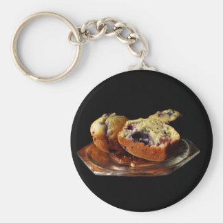 Blueberry Muffins Keychain