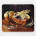Blueberry Muffins Mousepads