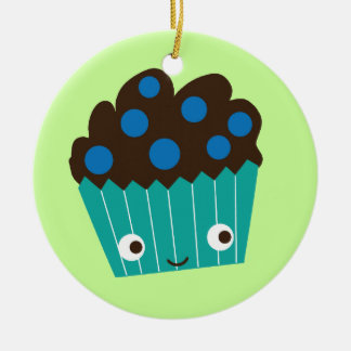 Blueberry Muffins Christmas Ornament