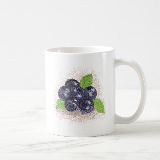 blueberry coffee mugs
