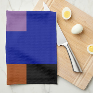 Blueberry Multicolor Kitchen Towels by Janz