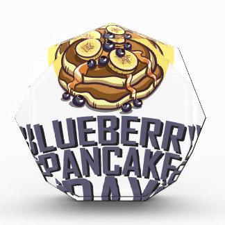 Blueberry Pancake Day - Appreciation Day Acrylic Award