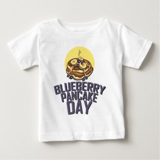 Blueberry Pancake Day - Appreciation Day Baby T-Shirt