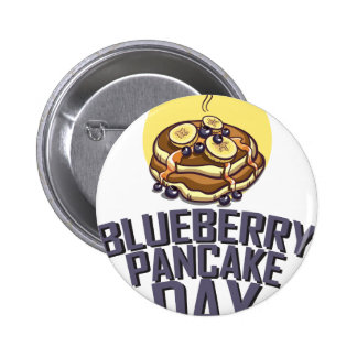 Blueberry Pancake Day - Appreciation Day Button