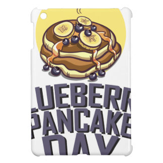 Blueberry Pancake Day - Appreciation Day Cover For The iPad Mini