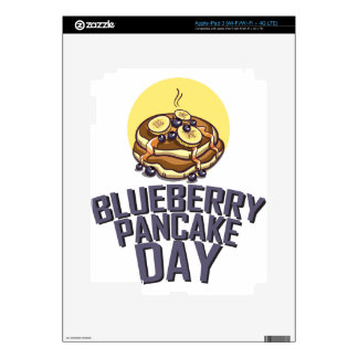 Blueberry Pancake Day - Appreciation Day iPad 3 Decal