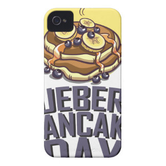 Blueberry Pancake Day - Appreciation Day iPhone 4 Case-Mate Case
