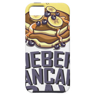 Blueberry Pancake Day - Appreciation Day iPhone SE/5/5s Case