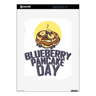Blueberry Pancake Day - Appreciation Day Skin For iPad 2
