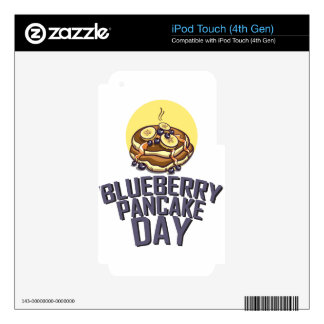Blueberry Pancake Day - Appreciation Day Skin For iPod Touch 4G