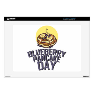 """Blueberry Pancake Day - Appreciation Day Skins For 15"""" Laptops"""