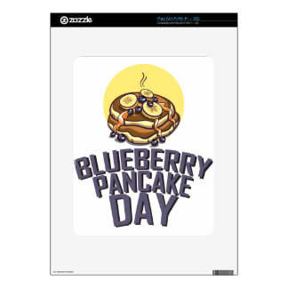 Blueberry Pancake Day - Appreciation Day Skins For The iPad