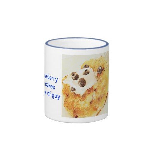 Blueberry Pancake GUY mug