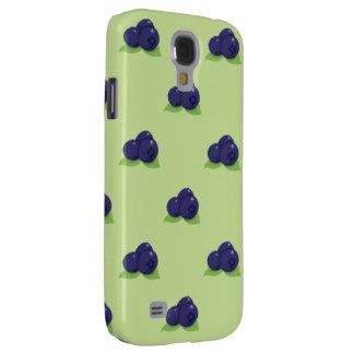 blueberry pattern HTC vivid tough Galaxy S4 Case