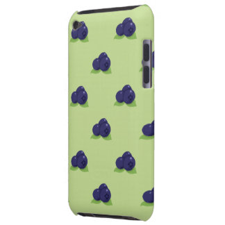 blueberry pattern ipod touch Case-Mate iPod touch case