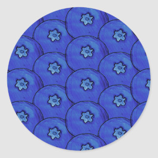 Blueberry Pattern Stickers