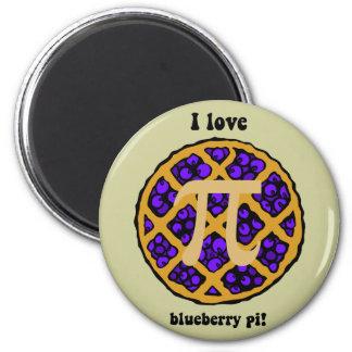 Blueberry pi 2 inch round magnet