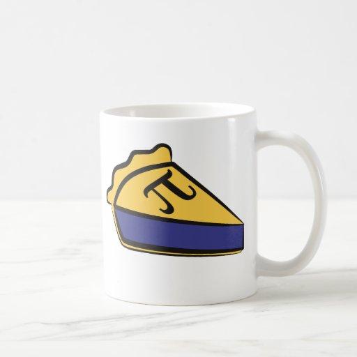 Blueberry Pi Classic White Coffee Mug