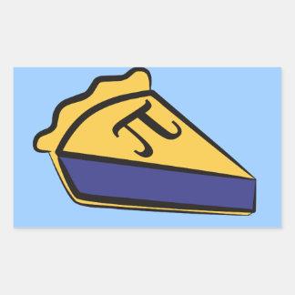 Blueberry Pi Rectangular Sticker
