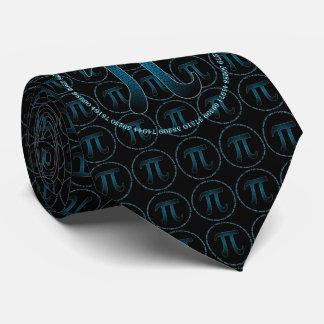Blueberry Pi Tie, Tie Pi
