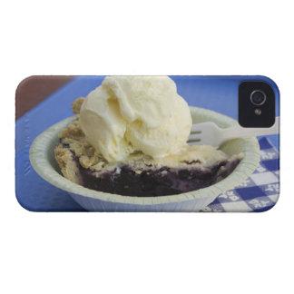 Blueberry pie a la mode iPhone 4 cases