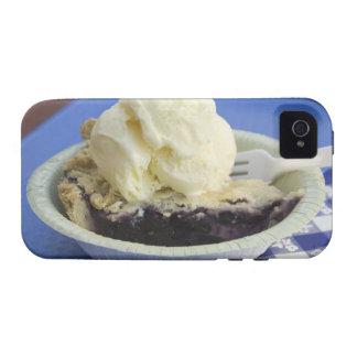 Blueberry pie a la mode iPhone 4 case