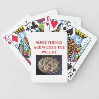 blueberry pie bicycle playing cards