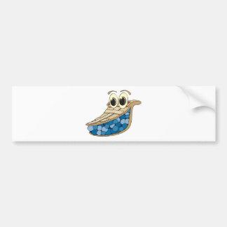 Blueberry Pie Bumper Sticker