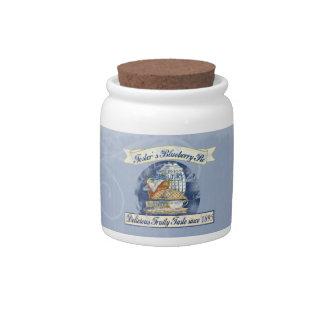 Blueberry Pie Candy Jar