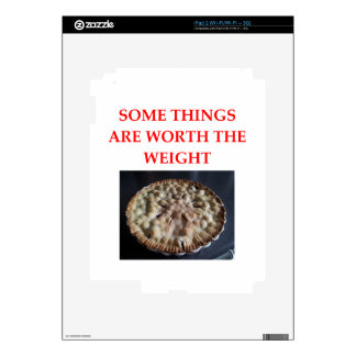 blueberry pie decal for iPad 2