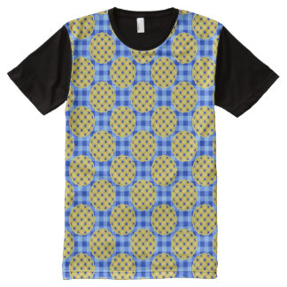 Blueberry Pie Dessert Foodie Pattern Baker Novelty All-Over-Print T-Shirt