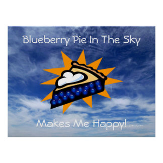 Blueberry Pie In The Sky Print