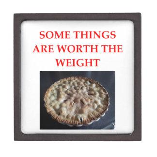blueberry pie jewelry box