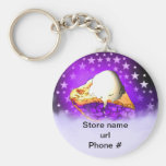 Blueberry Pie Keychain Promote Your Business