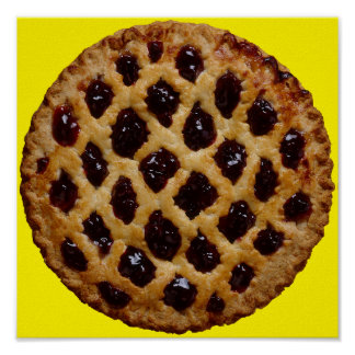 Blueberry Pie Poster