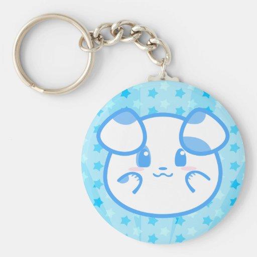 Blueberry Pie Puppy Keychain