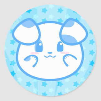 Blueberry Pie Puppy Sticker