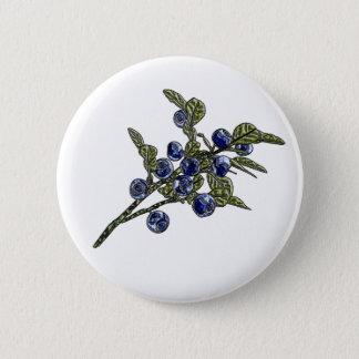 Blueberry Pinback Button