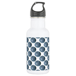 Blueberry Polka Dots Stainless Steel Water Bottle