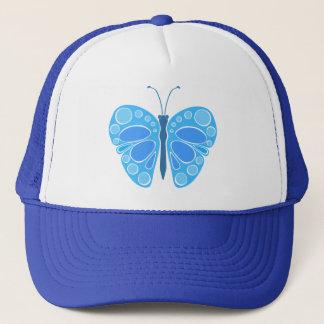 Blueberry Sky 60s Butterfly Trucker Hat