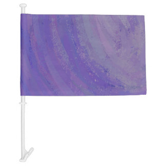 Blueberry Smear Car Flag