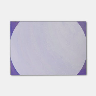 Blueberry Smear Post-it Notes