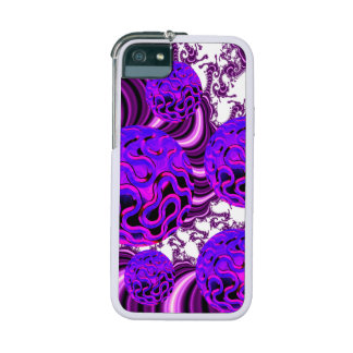 Blueberry Splash, Abstract Fractal Purple Fruit iPhone 5/5S Covers