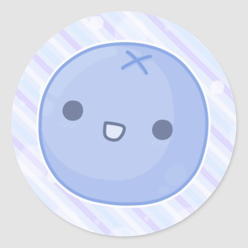 blueberry stickers