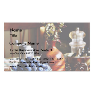 Blueberry Still Life Double-Sided Standard Business Cards (Pack Of 100)