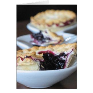 Blueberry Tartelettes Card