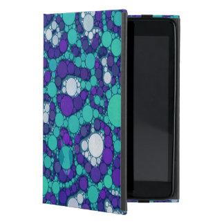 Blueberry Turquoise Cheetah iPad Mini Case