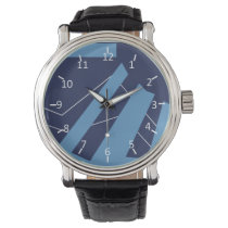 Blueberry with a Trace of Marshmallow Wrist Watch