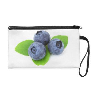 Blueberry Wristlet Purse